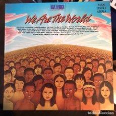 """Discos de vinilo: USA FOR AFRICA - WE ARE THE WORLD - 12"""" MAXISINGLE CBS 1985. Lote 289495833"""