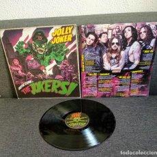 Discos de vinilo: VINILO FLAMANTE JOLLY JOKER : HERE COME THE JOKERS!! - HARD ROCK / METAL. Lote 289496258