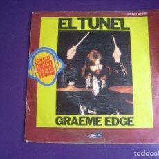 Discos de vinilo: GRAEME EDGE – EL TUNEL - SG THRESOLD 1976 - ROCK 70'S SINFONICO - MOODY BLUES. Lote 289496838