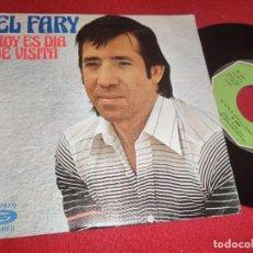 Discos de vinilo: EL FARY HOY ES DIA DE VISITA/NOCHE SILENCIOSA 7'' SINGLE 1977 MOVIEPLAY. Lote 289499563