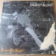 Discos de vinilo: WHITNEY HOUSTON / I'M YOUR BABY TONIGHT / MAXI-SINGLE 12 PULGADAS. Lote 289499923