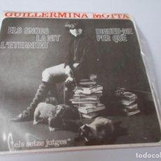 Discos de vinilo: GUILLERMINA MOTTA EL SNOBS (ELS SETZE JUTGES). Lote 289499948
