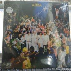 Discos de vinilo: ABBA PICTURE DISC LP THANK YOU FOR THE MÚSIC RECOPILACIÓN PRECINTADO JAPON. Lote 289500273