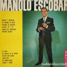Discos de vinilo: MANOLO ESCOBAR -ESPIGAS Y AMAPOLAS... Y OTROS TEMAS LP SPAIN 1966. Lote 289502313