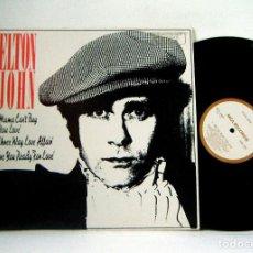 Discos de vinilo: ELTON JOHN - THOM BELL SESSIONS 1977, INEDITO, COLLECTORS, RARE EDIC ORG USA PROMO, IMPECABLE. Lote 289502628