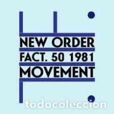Discos de vinilo: LP-NEW ORDER/ MOVEMENT (NUEVO PRECINTADO). Lote 289503428