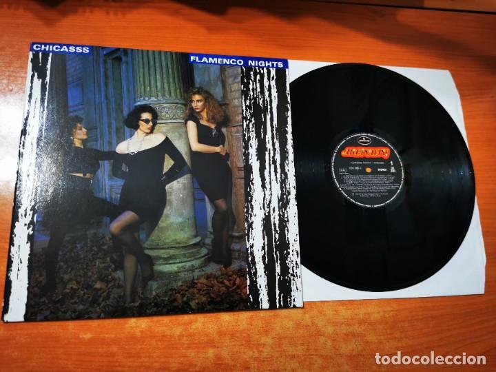 CHICASSS FLAMENCO NIGHTS LP DE VINILO DEL AÑO 1989 CONTIENE 12 TEMAS ITALO DISCO DANCE RARO (Música - Discos - LP Vinilo - Grupos Españoles de los 90 a la actualidad)