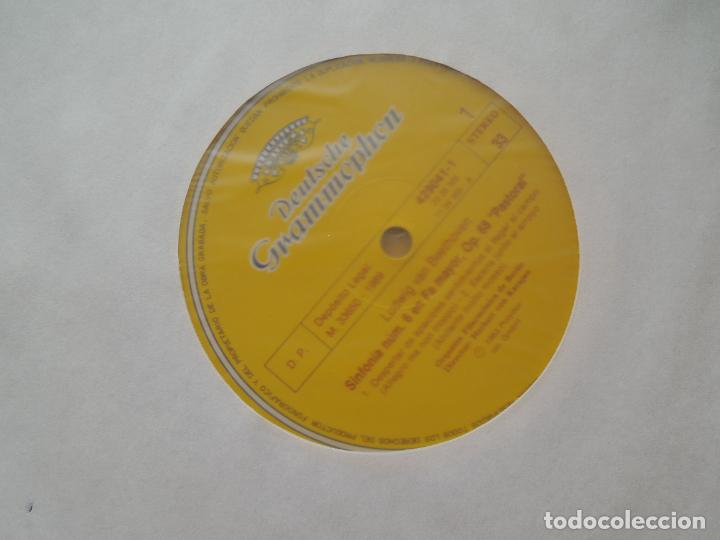 Discos de vinilo: BEETHOVEN-9 SINFONIAS-HERBERT VON KARAJAN-8 LPS DEUTSCHE GRAMMOPHON EN CAJA CON LIBRETO-1ª ED. 1963. - Foto 4 - 289505128