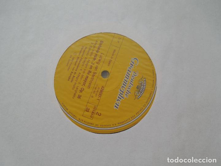 Discos de vinilo: BEETHOVEN-9 SINFONIAS-HERBERT VON KARAJAN-8 LPS DEUTSCHE GRAMMOPHON EN CAJA CON LIBRETO-1ª ED. 1963. - Foto 9 - 289505128