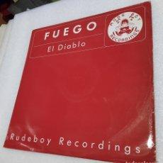 Discos de vinilo: FUEGO - EL DIABLO. Lote 289505818