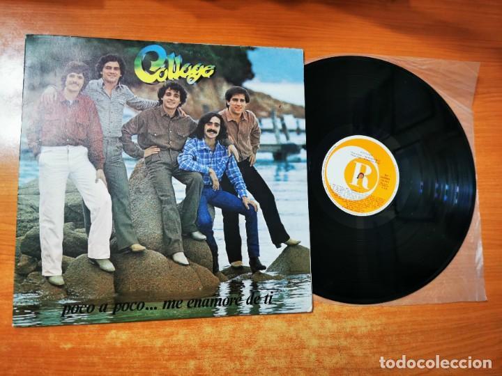 COLLAGE POCO A POCO CANTADO EN ESPAÑOL LP VINILO DEL AÑO 1981 ESPAÑA MUY RARO CONTIENE 10 TEMAS (Música - Discos - LP Vinilo - Canción Francesa e Italiana)