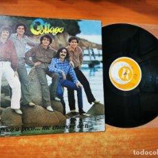 Discos de vinilo: COLLAGE POCO A POCO CANTADO EN ESPAÑOL LP VINILO DEL AÑO 1981 ESPAÑA MUY RARO CONTIENE 10 TEMAS. Lote 289505988