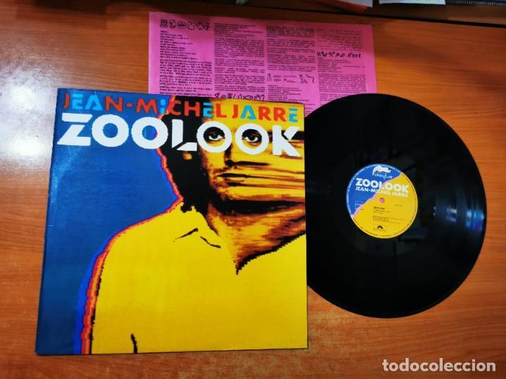 JEAN MICHEL JARRE ZOOLOOK LP VINILO DEL AÑO 1984 HECHO EN ESPAÑA ENCARTE CONTIENE 7 TEMAS (Música - Discos - LP Vinilo - Pop - Rock - Internacional de los 70)