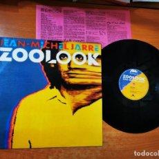 Discos de vinilo: JEAN MICHEL JARRE ZOOLOOK LP VINILO DEL AÑO 1984 HECHO EN ESPAÑA ENCARTE CONTIENE 7 TEMAS. Lote 289506748