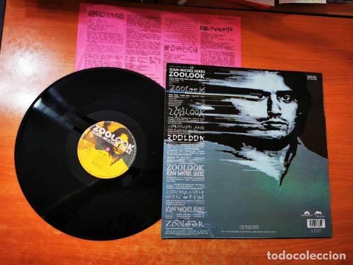 Discos de vinilo: JEAN MICHEL JARRE Zoolook LP VINILO DEL AÑO 1984 HECHO EN ESPAÑA ENCARTE CONTIENE 7 TEMAS - Foto 2 - 289506748
