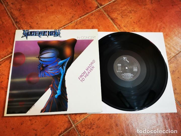 NEURONIUM IN CONCERT FROM MADRID TO HEAVEN LP VINILO DEL AÑO 1988 ESPAÑA GATEFOLD 4 TEMAS MUY RARO (Música - Discos - LP Vinilo - Pop - Rock - New Wave Internacional de los 80)