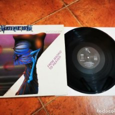 Discos de vinilo: NEURONIUM IN CONCERT FROM MADRID TO HEAVEN LP VINILO DEL AÑO 1988 ESPAÑA GATEFOLD 4 TEMAS MUY RARO. Lote 289507313