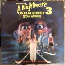 Discos de vinilo: ANGELO BALADAMENTE - A NIGHTMARE ON ELM STREET 3 : DREAM WARRIORS BSO ED.USA 1987. Lote 289507538