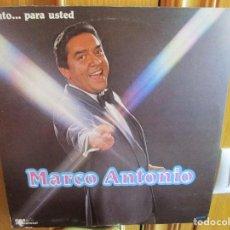 Discos de vinilo: LP HECHO EN MEXICO MARCO ANTONIO POR TI MUJER , CARIÑO MIO ,. Lote 289507558