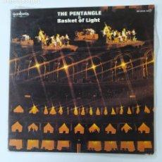 Discos de vinilo: THE PENTANGLE & BASKET OF LIGHT. - THE PENTANGLE. DOBLE LP. TDKDA70. Lote 289508208