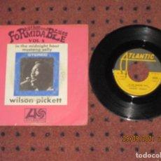 Discos de vinilo: WILSON PICKETT - IN THE MIDNIGHT HOUR - SINGLE - FRANCIA - ATLANTIC - L -. Lote 289516898