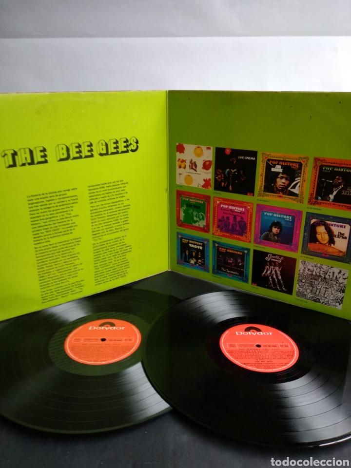Discos de vinilo: THE BEE GEES, POP HISTORY VOL.18 - Foto 2 - 289516903