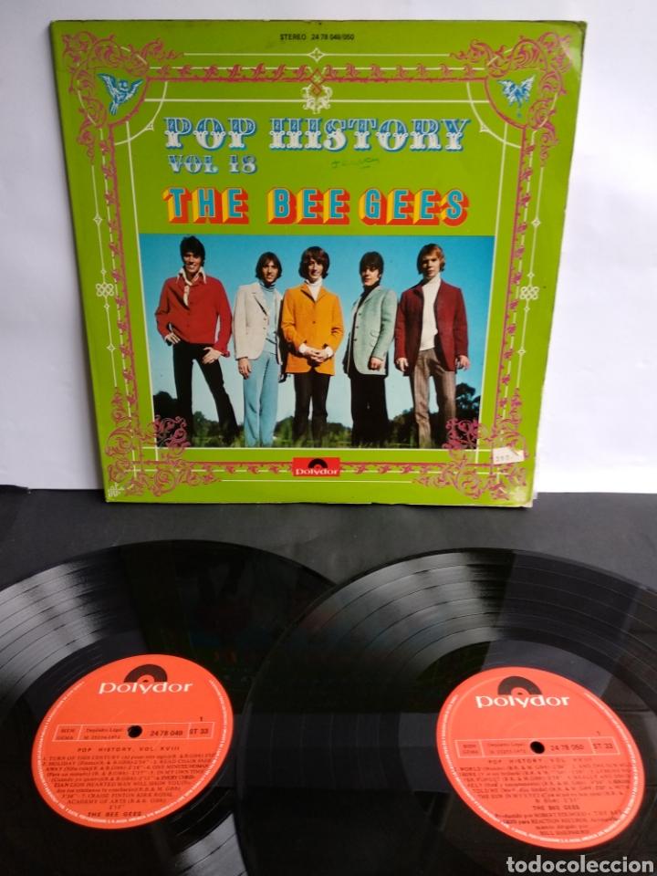 THE BEE GEES, POP HISTORY VOL.18 (Música - Discos - LP Vinilo - Pop - Rock - Internacional de los 70)
