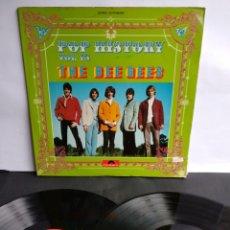 Discos de vinilo: THE BEE GEES, POP HISTORY VOL.18. Lote 289516903
