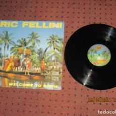 Discos de vinilo: RIC FELLINI - WELCOME TO RIMINI - MAXI - SPAIN - MAX MUSIC - LV -. Lote 289517053