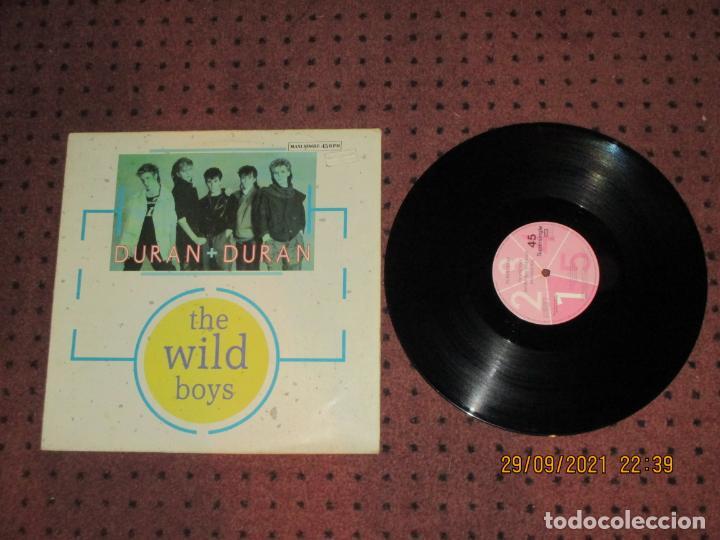 DURAN DURAN - THE WILD BOYS - MAXI - SPAIN - EMI - LV - (Música - Discos de Vinilo - Maxi Singles - Pop - Rock - New Wave Internacional de los 80)