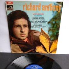 Discos de vinilo: RICHARD ANTONY, LES BALLONS SEVERINE, EMI, LA VOZDE SU AMO. 1969. ESPAÑA.. Lote 289517693