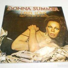 Dischi in vinile: SINGLE DONNA SUMMER. I FEEL LOVE. CAN'T WE JUST SIT DOWN. ARIOLA 1977 SPAIN (PROBADO, BUEN ESTADO). Lote 289518758