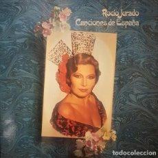 Discos de vinilo: ROCIO JURADO - CANCIONES DE ESPAÑA - LP SPAIN RCA 1981, PORTADA DOBLE.. Lote 289521073