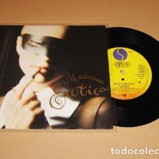Discos de vinilo: MADONNA - EROTICA - SINGLE - 1992. Lote 289524878
