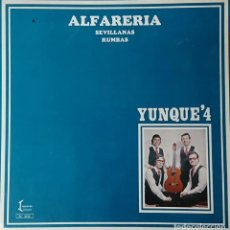 Discos de vinilo: YUNQUE 4 - ALFARERIA. Lote 289528983