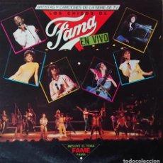 Discos de vinilo: FAMA - EN VIVO. Lote 289529153