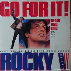 Discos de vinilo: ROCKY V - GO FOR IT. Lote 289529158