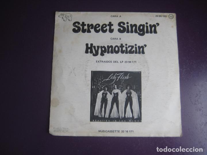 Discos de vinilo: Lady Flash – Street Singin - sG rso 1976 - funk disco 70s - LEVE USO - Foto 2 - 289540463