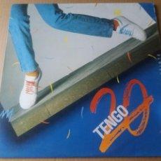 Discos de vinilo: TENGO 20 / MAXI-SINGLE 12 PULGADAS. Lote 289541353