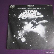 Discos de vinilo: DON ELLIS AND SURVIVAL – STAR WARS - SG ATLANTIC HISPAVOX 1977 - JAZZ ELECTRONICA - LEVE USO. Lote 289541768