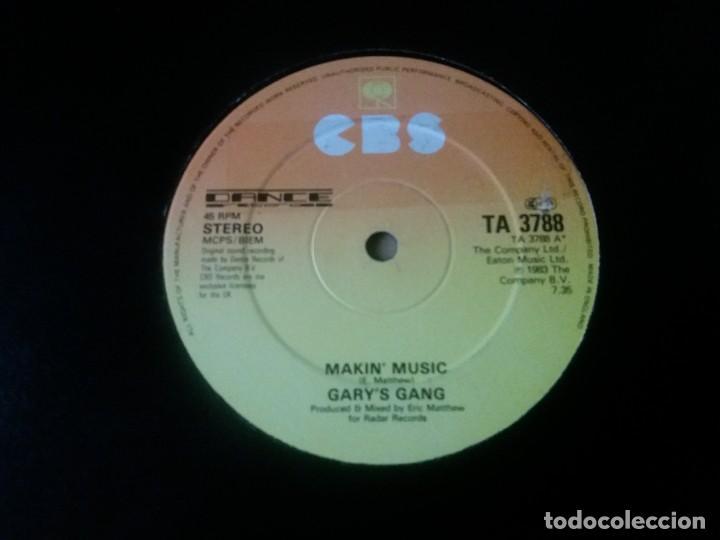 GARY'S GANG / MAKIN' MUSIC / MAXI-SINGLE 12 PULGADAS (Música - Discos de Vinilo - Maxi Singles - Electrónica, Avantgarde y Experimental)