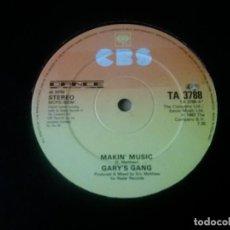 Discos de vinilo: GARY'S GANG / MAKIN' MUSIC / MAXI-SINGLE 12 PULGADAS. Lote 289543218