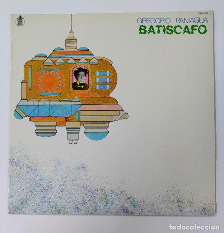 GREGORIO PANIAGUA. BATISCAFO. LP. TDKDA70 (Música - Discos - LP Vinilo - Electrónica, Avantgarde y Experimental)