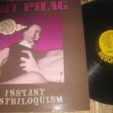 Discos de vinilo: ART PHAG – INSTANT VENTRILOQUISM RESONANCE 1991 NETHERLANDS LEA DESCRIPCION. Lote 289551163