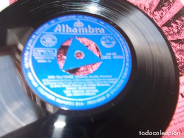 Discos de vinilo: FRAGMENTOS DE ZARZUELA Los Claveles Selección Nº 53 - Foto 2 - 289552223