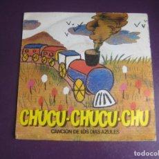 Discos de vinilo: CHUCU-CHUCU-CHU (CANCIÓN DE LOS DÍAS AZULES) - RENFE - SG AUDIO VIDEO 1981 - PUBLICIDAD TV 80'S. Lote 289552428