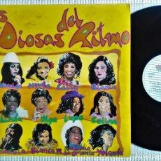 """Discos de vinilo: VARIOS - """" LAS DIOSAS DEL RITMO """" 2 LP 1994 SPAIN CELIA CRUZ LA LUPE GRACIELA. Lote 289553568"""