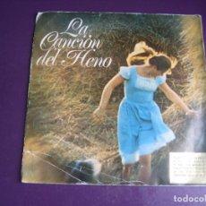 Discos de vinilo: LA CANCIÓN DEL HENO - SG PROMO 1972 - EASY LISTENING LOUNGE POP 70'S - PUBLICIDAD TVE -. Lote 289553723