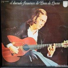 Discos de vinilo: PACO DE LUCIA - EL DUENDE FLAMENCO DE PACO DE LUCIA LP (NM MUY NUEVO). Lote 289556143