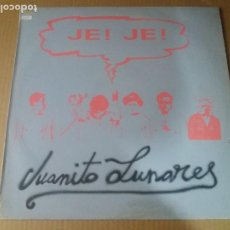 Discos de vinilo: JE! JE! / JUANITO LUNARES / MAXI-SINGLE 12 PULGADAS. Lote 289556503